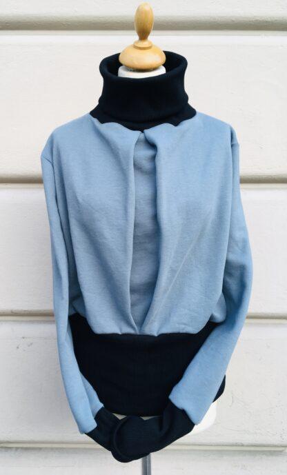 TESS, bleu-schwarz